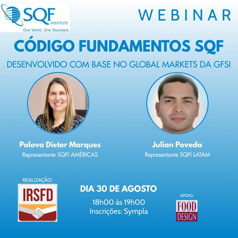 Webinar - Código Fundamentos SQF