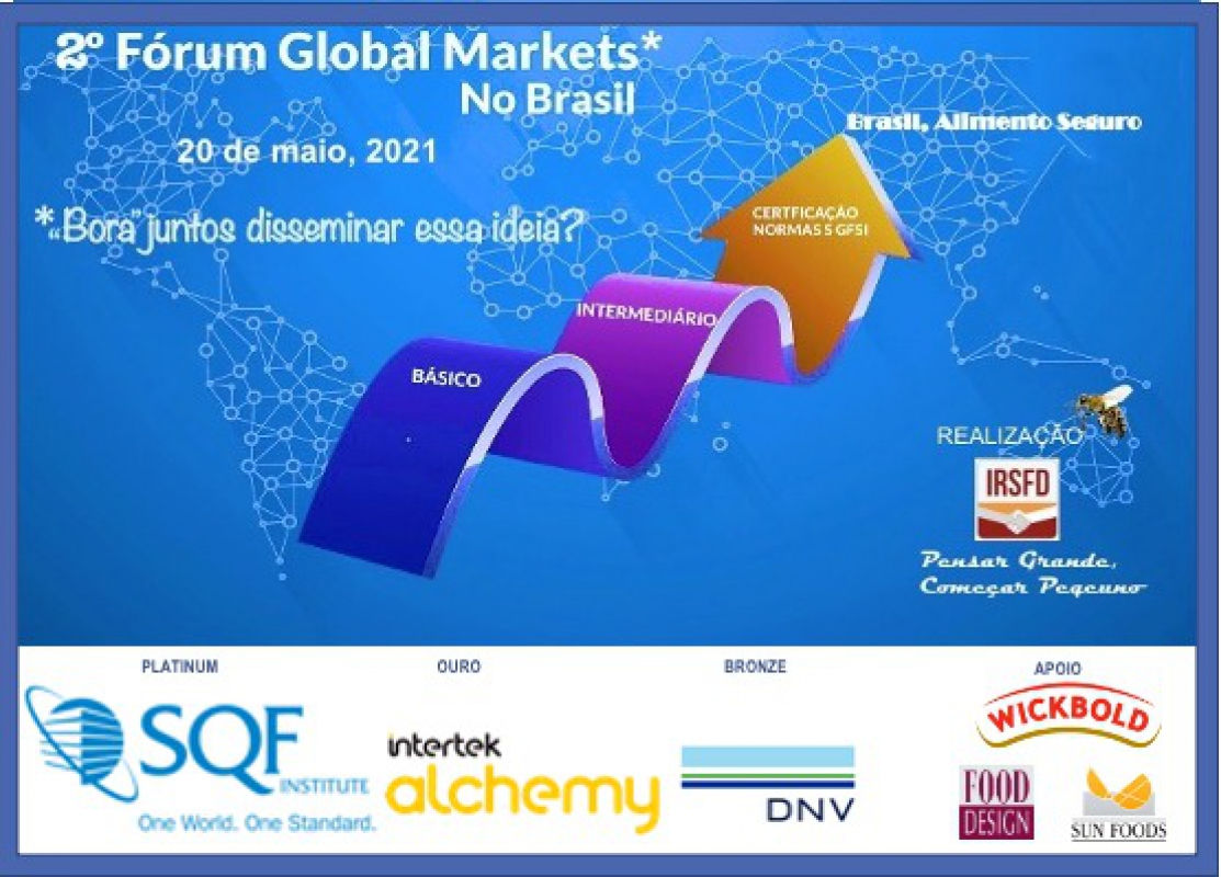 Programa do 2º Fórum Global Markets no Brasil
