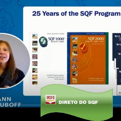 Desvendando as alterações da 9ª edição da norma SQF – P.03 – LeAnn Chuboff, Vice President, Technical Affairs, SQFI