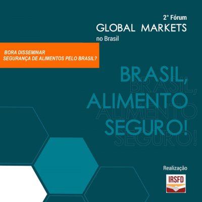 2° Fórum Global Markets no Brasil
